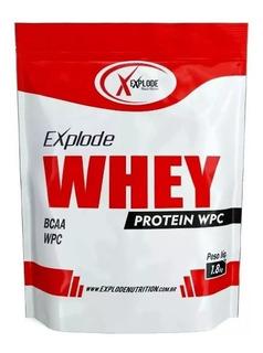 4x Whey Protein 100% 1,800kg Explode - Promoção