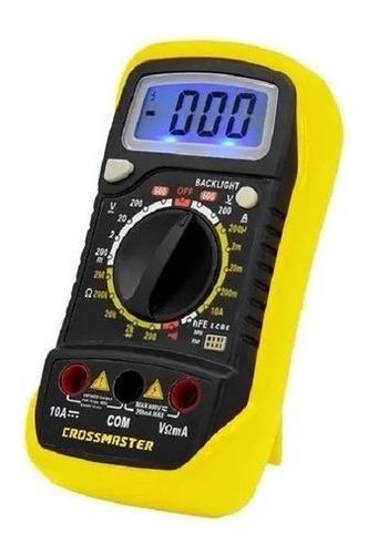 Imagen 1 de 6 de Multimetro Digital Tester Crossmaster 200 - 600v Profesional