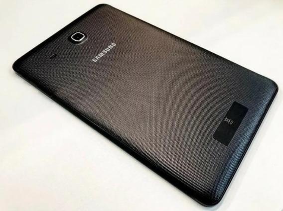 Tampa Traseira Carcaça Tablet Samsung Sm-t560 Preta Original