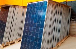 Kit 4 Placa Solar Painel Modulo Fotovoltaico 330wa Inmetro