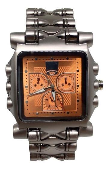 Relógio Oakley Tank Minute Machine - Laranja