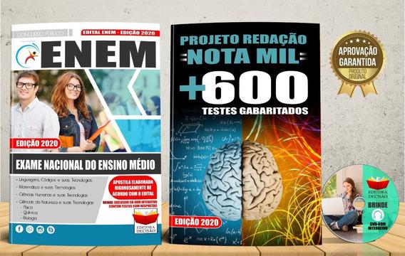Apostila Exame Nacional Do Ensino Médio - Enem 2020
