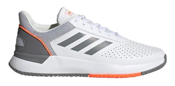 Zapatillas adidas Courtsmash De Tenis Bla/gri De Hombre