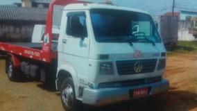 Caminhao Volks 8150 Guincho Com Plataforma Tecar