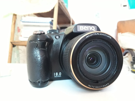 Câmera Profissional Benq 18 Megapixels Em Ótima Estado