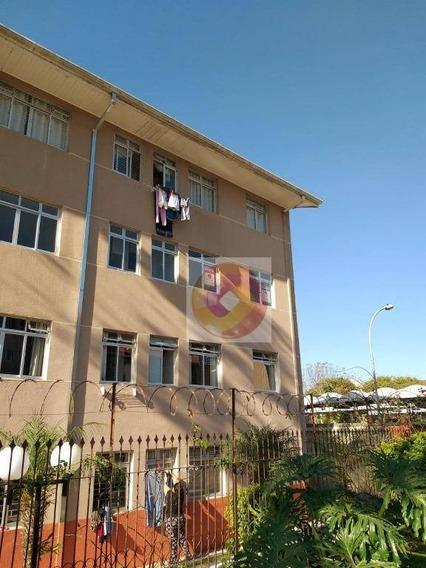 Apartamento Com 2 Dormitórios Para Alugar, 44 M² Por R$ 800/mês - Incluso Condomínio - Caiuá - Curitiba/sp - Ap0239