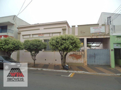Terreno Comercial À Venda, Centro, Santa Bárbara D