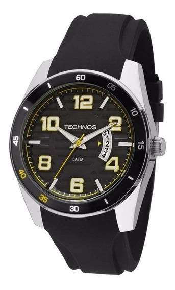 Relógio Technos Masculino Racer 2115ksr/8y Aço Prata Oferta