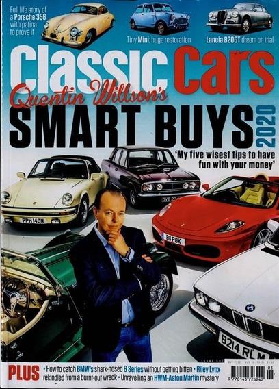 Classic Cars - Revista Inglesa Mensal Carros