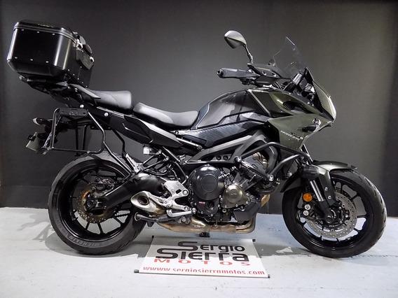 Yamaha Mt09 Tracer Gris Verde 2017