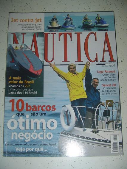 Revista Nautica 204 Paranoa Sancat V52 Jets 2005 Fret Grats