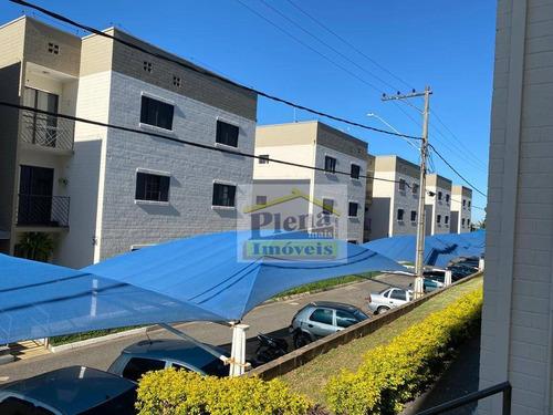Apartamento Com 2 Dormitórios À Venda, 66 M² Por R$ 170.000 - Jardim Santa Clara Do Lago I - Hortolândia/sp - Ap1279