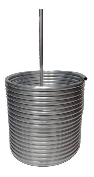 Serpentina.para Chopera De Aluminio 3/8 De 15 Mts - 19cm Dia