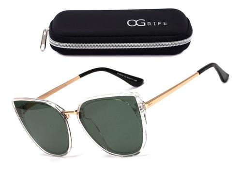 Oculos Ogrife Solar Feminino Og 1152-c Proteção Uv Original