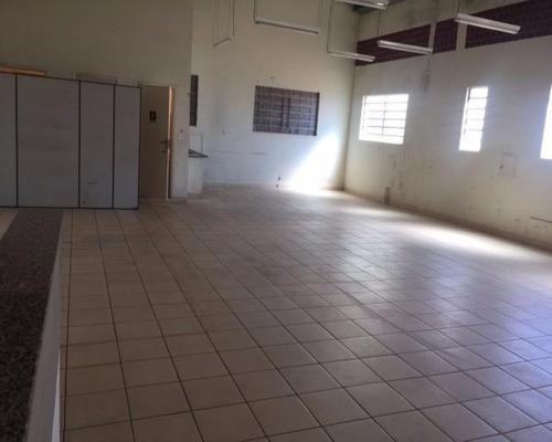 Salão Comercial Para Locação 360m² Útil Campos Eliseos, Ribeirão Preto, Ótimo Salão Comercial Com Dois Pavimentos Piso Frio 3 Banheiros, Escritório - Sa00034 - 68959140