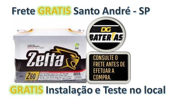 Bateria De Carro Zetta 60ah Gm: Astra,corsa,meriva,vectra,