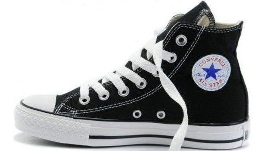 Bota Converse All Star Blanca Y De Color