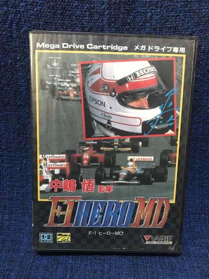 F1 Hero Md Jap Mega Drive Completo