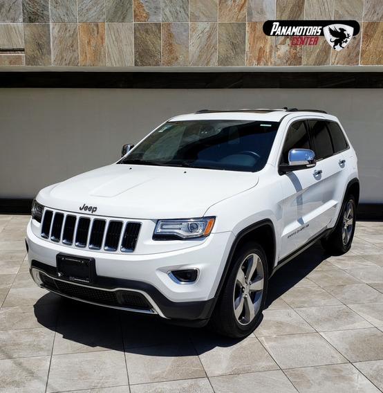 Grand Cherokee Limited Lujo, V6, 3.6l, Ta, Piel, Qc, Gps,