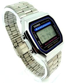 Relógio Casio Vintage A168 Unissex A168wg-9wdf Prata