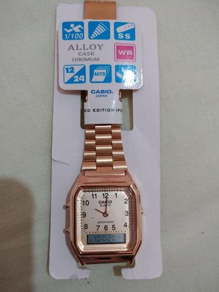 Relógio Casio Alloy 2 Horários