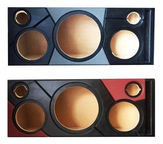 Caja Acustica Columna Para Sonido Medios 8 Bajo 12 Pul