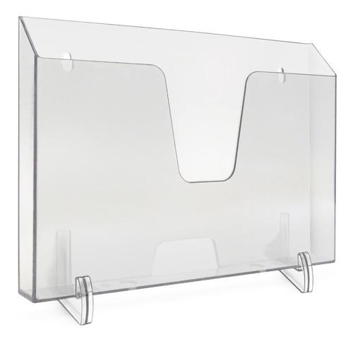 Imagem 1 de 1 de Expositor Acrimet 862 1 Horizontal Cristal