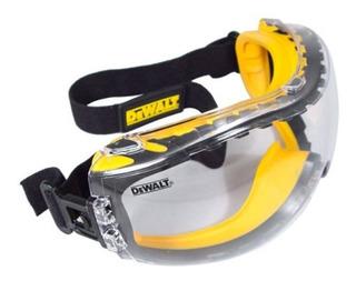 Goggles De Trabajo Seguridad Dewalt Anti Empañamiento Envío Incluído