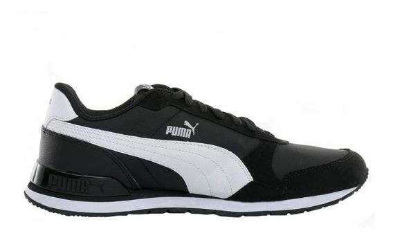 Puma Zapatillas Lifestyle Hombre St Runner V2 Negro - Bco