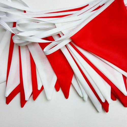Imagen 1 de 2 de Banderines X 100 Metros Colores A Elección