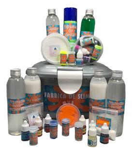 Slime , Super Kit Fabrica X L De , Masa Estirable,moco!!
