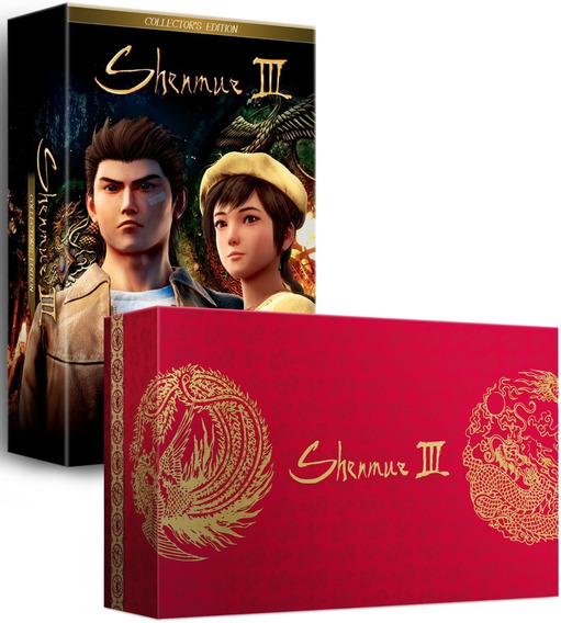 Shenmue Iii 3 Limited Edition (limited Run) Ps4 Midia Fisica