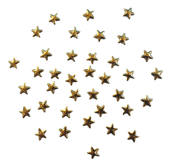 Tachas Estrella 100u Hotfix 8mm Termoadhesivas!