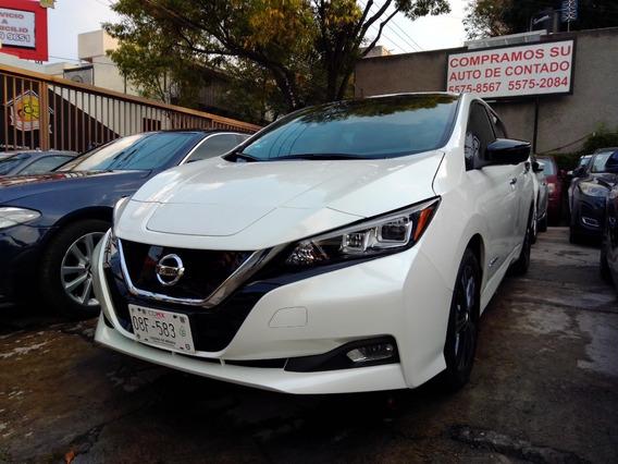 Nissan Leaf Sl 2019 Fac. De Agencia Unico Dueño. Nuevo.