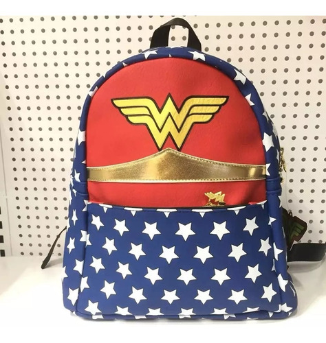 Mochila Wonder Woman Capitán MarvelAdultos Mujer Moda