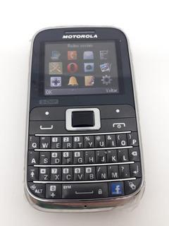 Celular Motorola Ex117 - 3 Chips Perfeito Para Área Rural