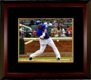 Athlon Ctbl-mb16532 Juan Lagares Firmado New York Mets Foto