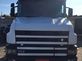 Scania T124 360 1999/1999 Bitren Randon 2010 Calçado De Pneu