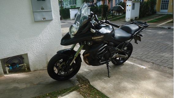 Moto Kawasaki Versys 650 2011 Com Abs E Acessorios / Troco