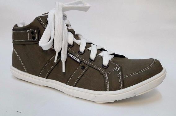 Zapatillas Botas Botitas Hombre Urbanas Eco Cuero 39 Al 44