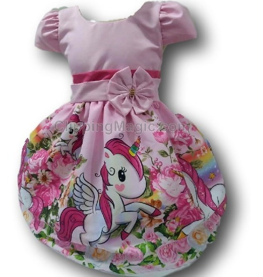 Kit 30 Vestido Temático Infantil Tema Festa Atacado Revenda