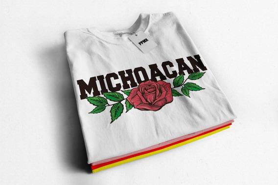 Playera De Moda Niña Y Dama Michoacan Lover