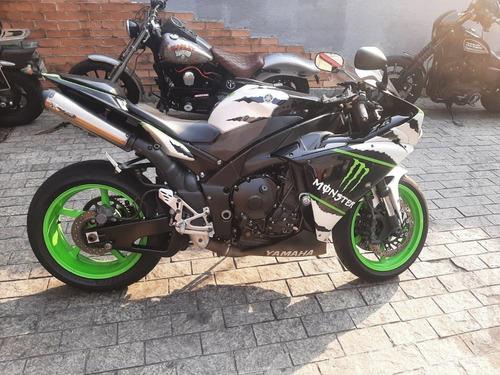 Imagem 1 de 15 de Yamaha Yzf R1 2012 1000cc Versão Monster Exclusiva