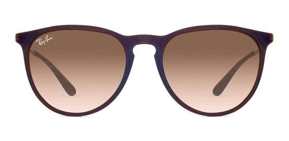 Óculos Sol Ray-ban Erika Original Masculino Feminino Cores