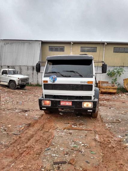 Caminhão Poli Guindaste Duplo Articulado 16170 Vw 1996