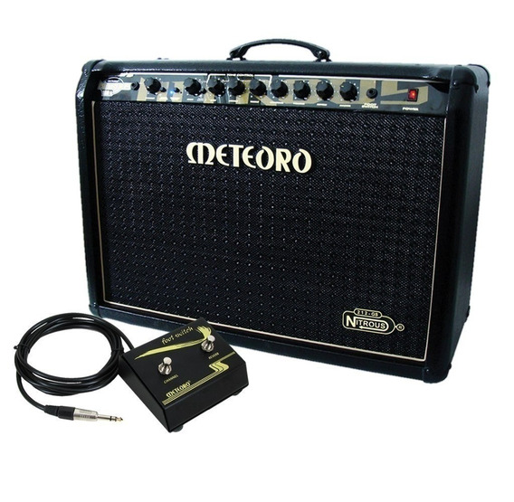 Amplificador Meteoro Gs100 Gs 100 Nitrous Cubo Profissional
