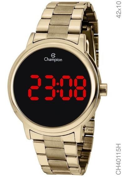Relógio Champion Feminino Digital Dourado Ch40115h Original