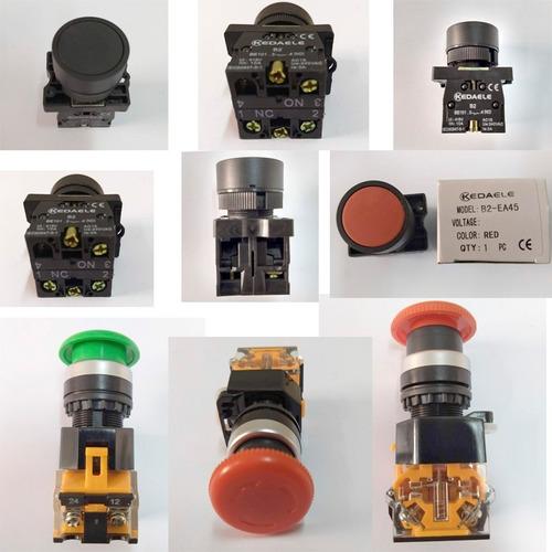 Comb Pulsadores Electricidad 415v Y 690v 10a 22mmx54mm