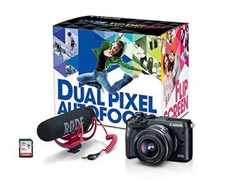 Kit De Creador De Video Canon Eos M6