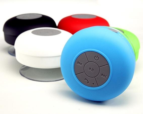 Caixa De Som Bluetooth Para Banheiro Com Ventosa
